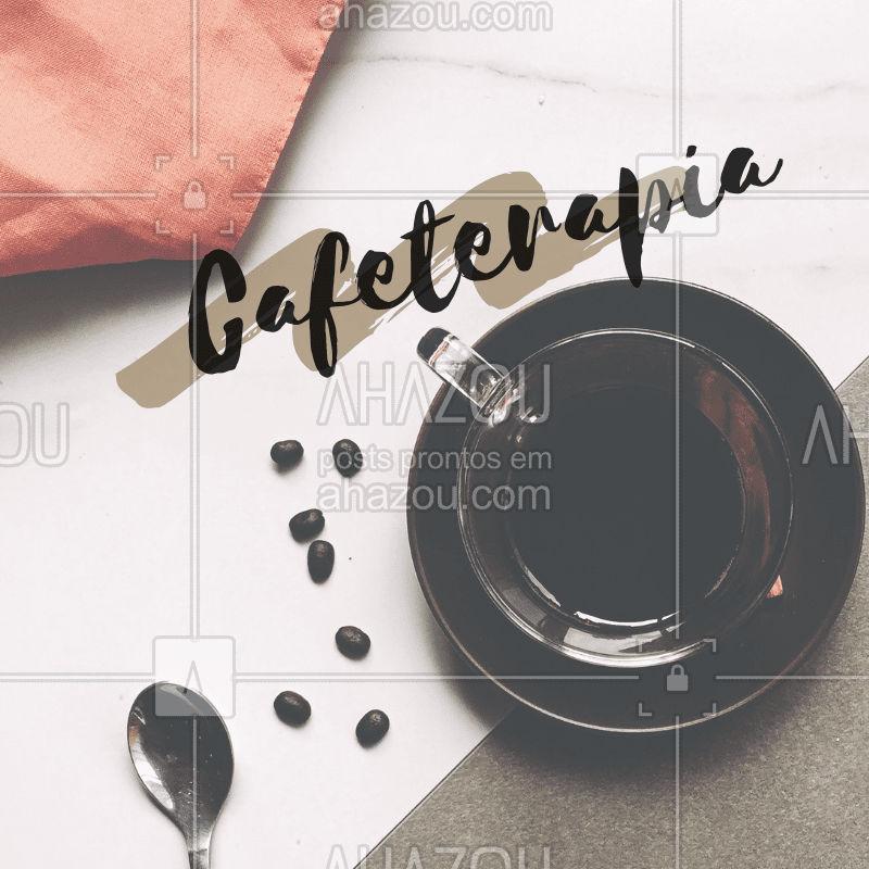 Cafeterapia consiste em uma terapia que utiliza café e possui benefícios como:  1.Tonifica a pele, dando um aspecto de menos envelhecimento;  2.Remodela a silhueta; 3.Ajuda na eliminação de acumulo de gorduras;  4.Acaba com estresse;  Aproveite e agende já um horário! ☕?♀️ #terapia #ahazouestetica #cafeterapia