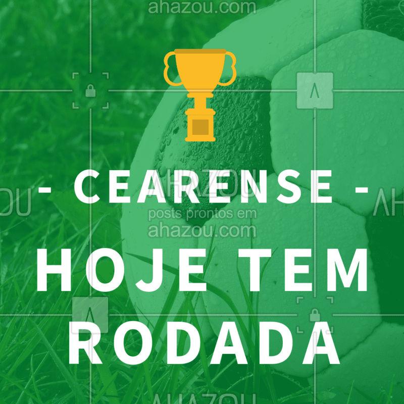 Chama a torcida e vem assistir a rodada do Cearense conosco #cearense #ahazou # ahazouapp #futebol #amigos #bar