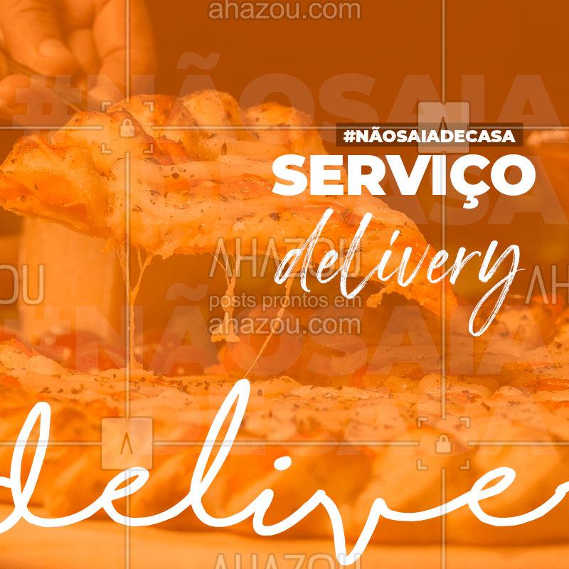 Nesse momento difícil, estamos nos adaptando para melhor atendê-lo sem que precise sair do conforto da sua casa, por esse motivo estamos realizando entregas para você receber nossas gostosuras vegetarianas na quarentena! #ahazou #ahazougastro #covid19 #delivery #coronavírus #nãosaiadecasa #comidaitaliana