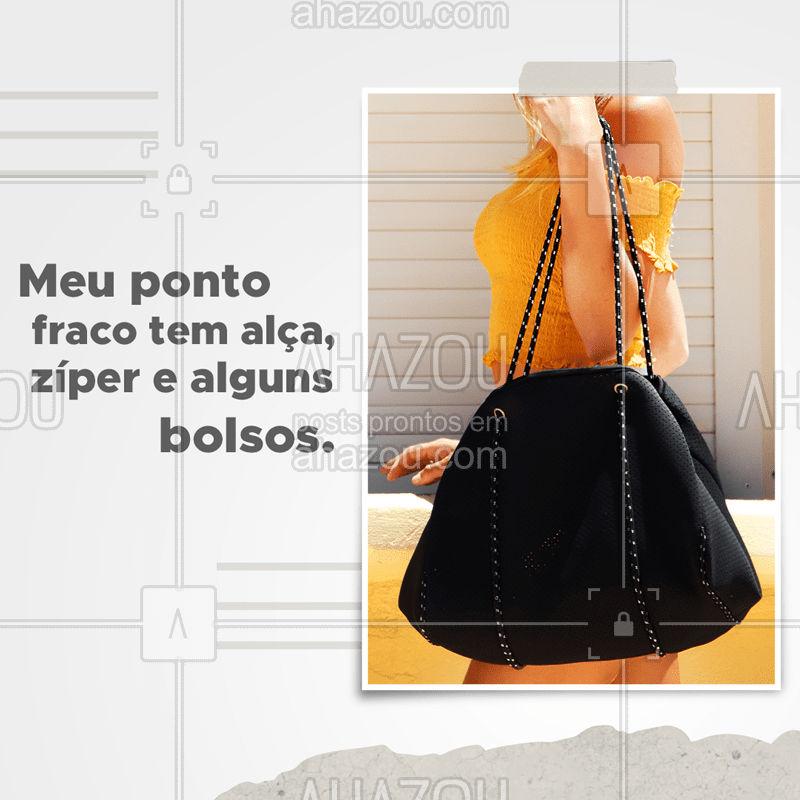 Quem mais não pode ver uma bolsa que já sai comprando? ? Vem cair em tentação com as novidades que chegaram. #moda #acessórios #ahazoufashion #acessoriosfemininos #fashion #bolsas
