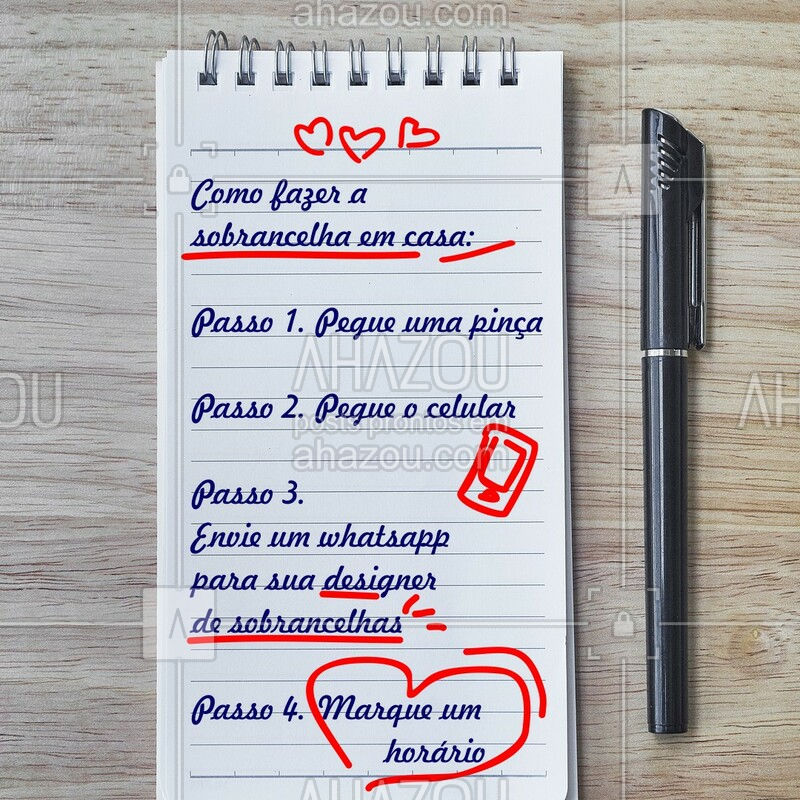 Dica boa é dica compartilhada! ? #sobrancelha #ahazou #designerdesobrancelha