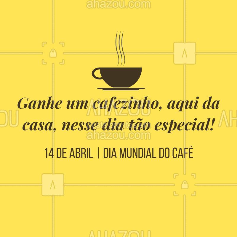 Quem não ama um cafezinho, em? Bora garantir o seu! ? #ahazoutaste #food #diadocafe #delicia