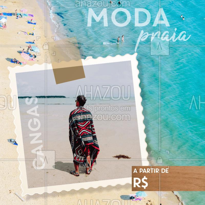 Venha escolher sua canga preferida para ahazar na praia nesse verão!  #moda #ahazou #praia #acessorio #verão