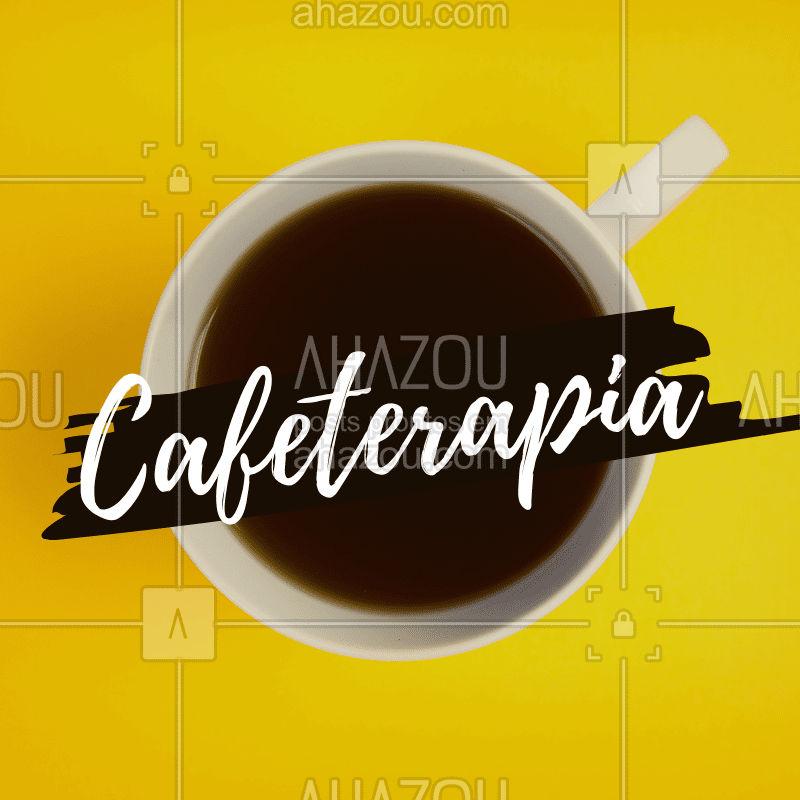 Cafeterapia consiste em uma terapia que utiliza café e possui benefícios como: 1. Tonifica a pele, dando um aspecto de menos envelhecimento; 2.Remodela a silhueta; 3. Ajuda na eliminação de acumulo de gorduras; 4.Acaba com estresse; Aproveite e agende já um horário! ☕?♀️ #terapia #ahazouestetica #cafeterapia