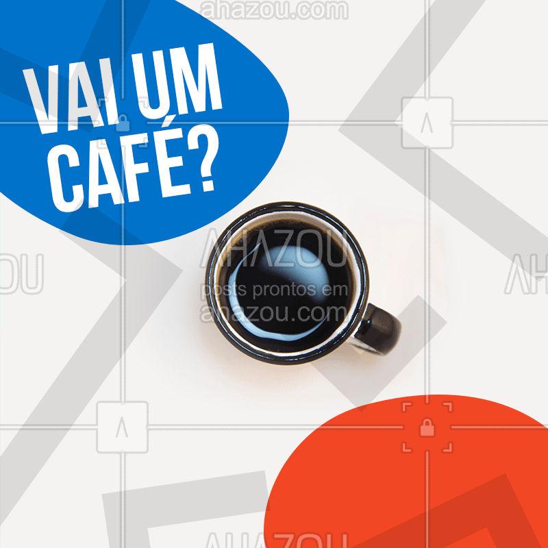 Vai um café fresquinho hoje?  #cafe #ahazou #dia