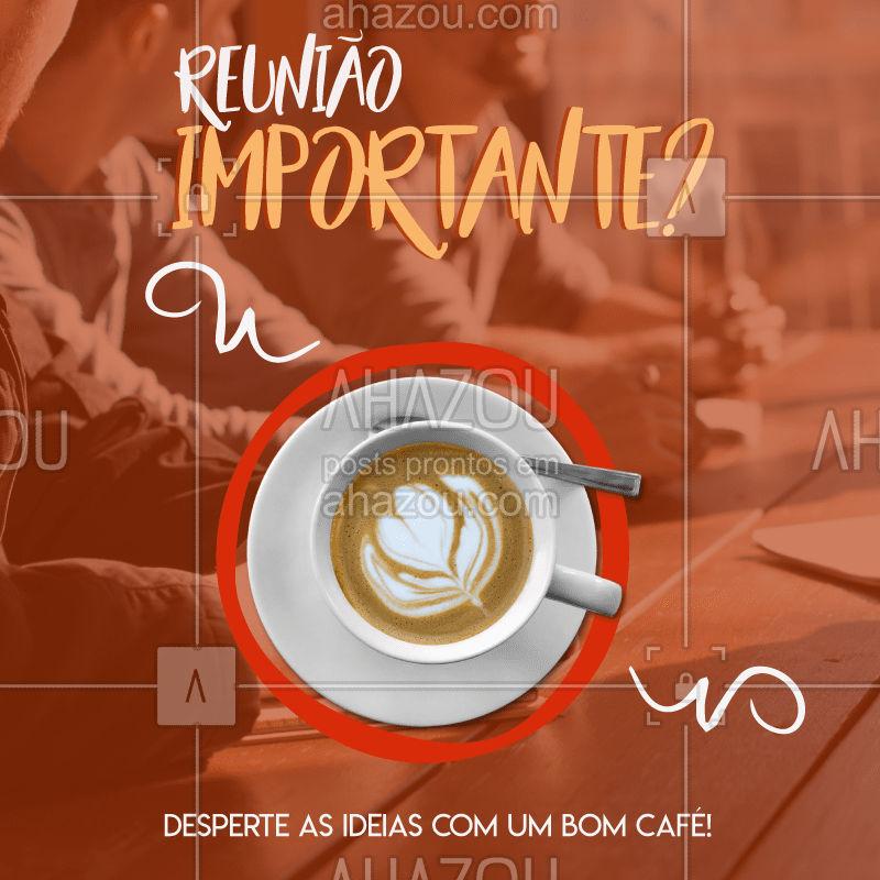 Precisa de um UP ⬆ para a reunião de trabalho? Turbine as ideias com um #expresso ☕?  #coffee #cafe #café #cappuccino #ahazou #expresso #ahazoutaste #taste #tastedemais