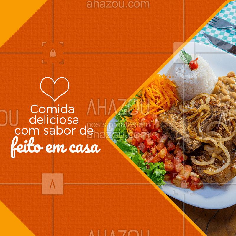 Quer aquela refeição bem feita com sabor de feito em casa? Vem pra cá! Nossos pratos são produzidos diariamente com muito amor. <3 #comidabrasileira #comidadeverdade #comidaboa #gastronomia #instafood #comida #comidacaseira #culinaria #ahazoutaste