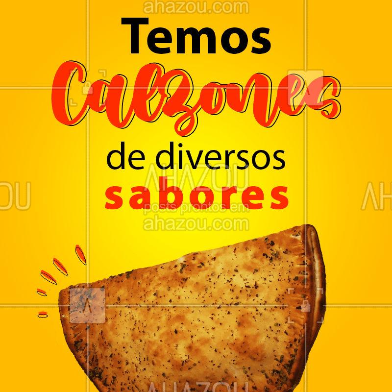 Venha experimentar! ??  #Calzones #Massas #ahazoutaste  #comidaitaliana #cozinhaitaliana