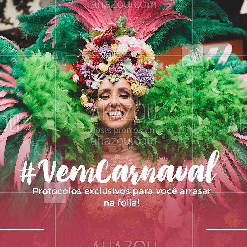 Para curtir este carnaval ainda mais linda, livre, leve e solta basta agendar o seu horário! ?? #carnaval #ahazouestetica #esteticacorporal