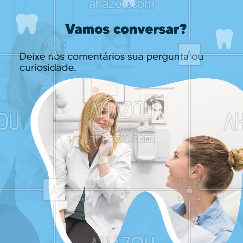 Momento interação, as vezes não temos total conhecimento dos procedimentos que queremos ou precisamos fazer, esse post é dedicado a perguntas e respondas, deixe a sua nos comentários que iremos responder ???   #dentista #interação #clientes #perguntas #respostas #ahazou #consultório #consulta #dentes #saúde #dental
