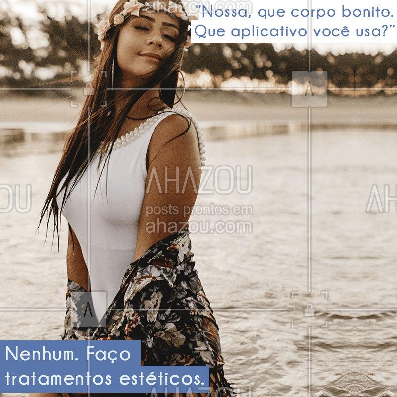 Se você quer ter um corpo mais modelado, venha conhecer os nossos tratamentos estéticos! ? #estéticacorporal #ahazou #corpo #saúde #beleza #bandbeauty
