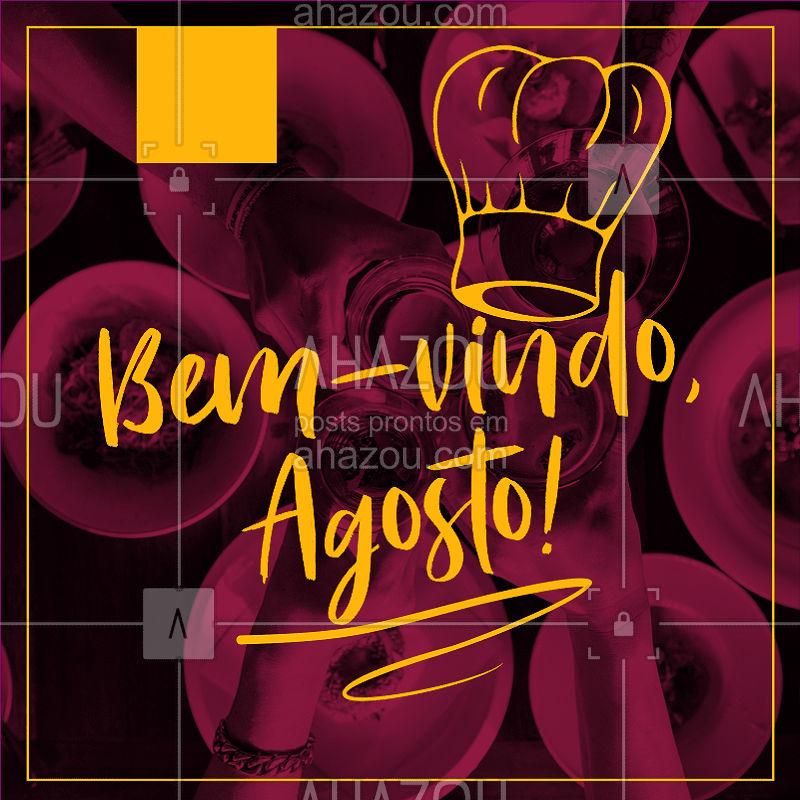 Que este novo mês seja recheado de boas energias! ✨ #agosto #ahazoutaste #gastronomia