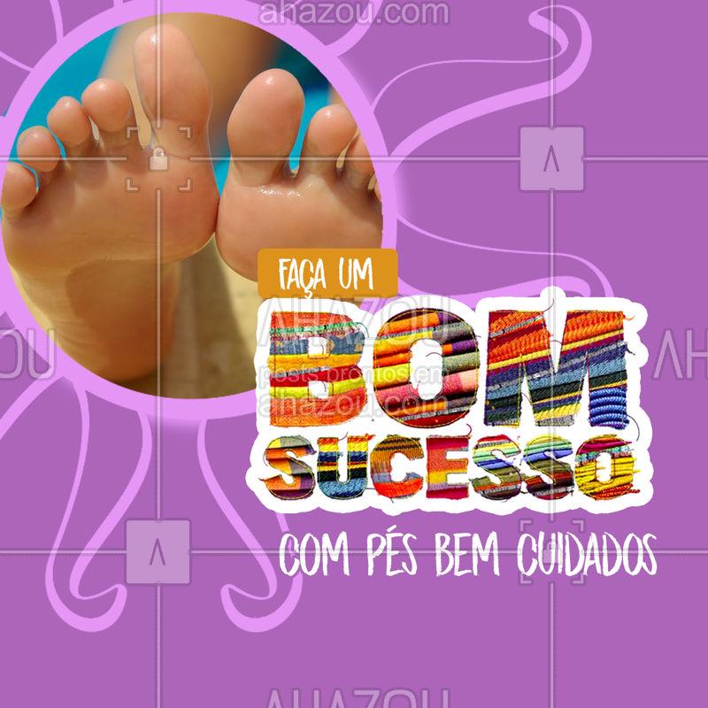 Agende já sua consulta e faça SUCESSO com pés saudáveis ? #podologia #ahazou #pés #bomsucesso #novela