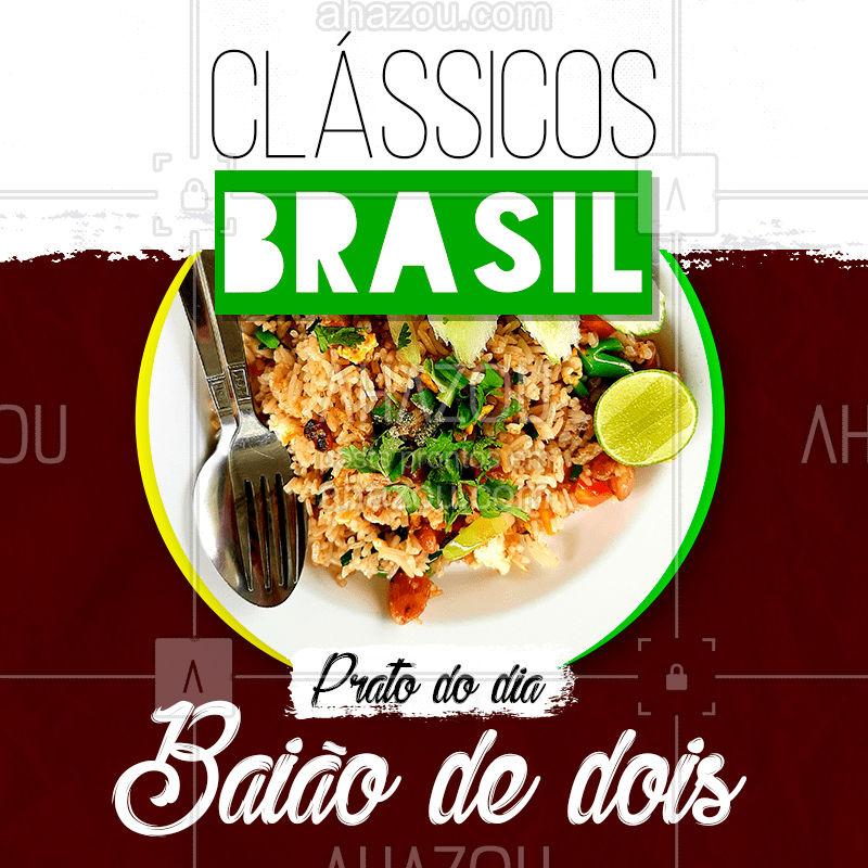 Hoje é dia desse clássico brasileiro que a gente tanto ama ??   Vem se deliciar ? #baiãodedois #classicos #frangocomquiabo #brasil #ahazoutaste #bandbeauty