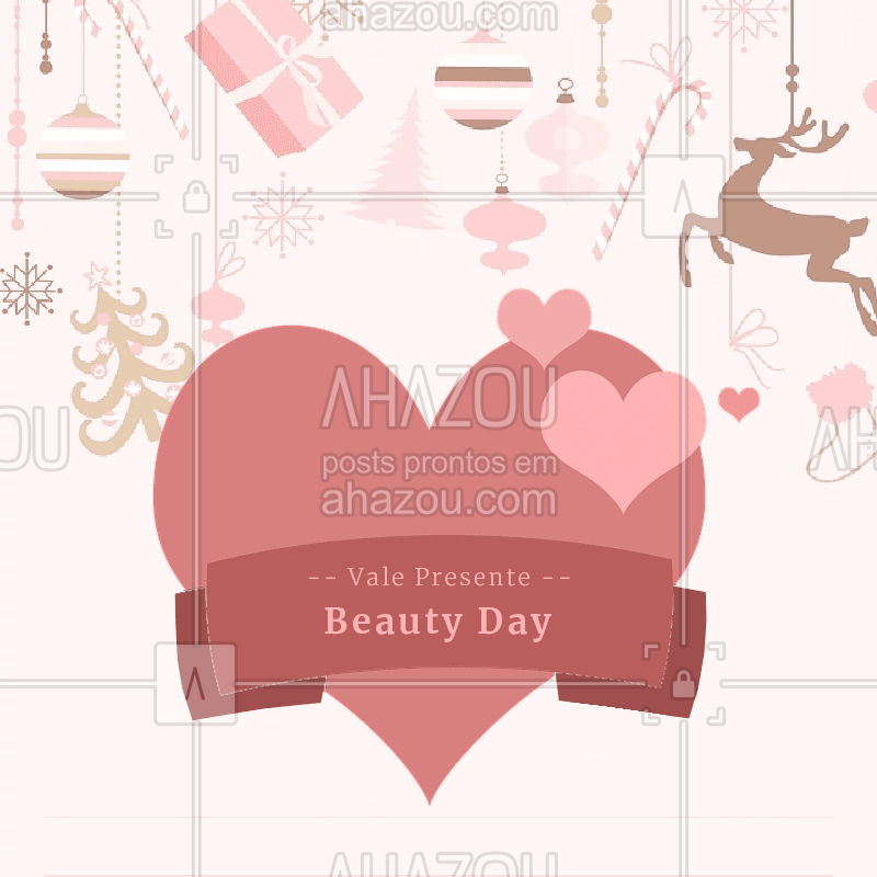 Que tal um BEAUTY DAY de presente de Natal? Separamos vários VALES PRESENTES para você presentear aquela pessoa especial. São diversos combos de tratamentos especiais! Garanta já o seu. #salãodebeleza #combobeleza #beleza #bandbeauty #ahazou #valepresente #beauty