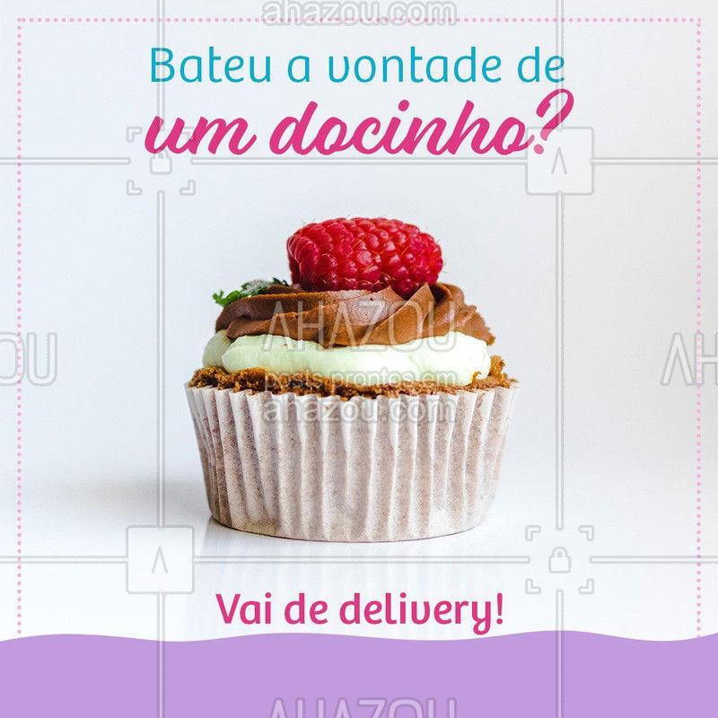 Vamos adoçar o seu dia! #ahazoutaste #docinho #guloseima #gastronomia #delivery #quarentena