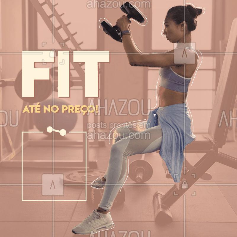 Aproveite nossos preços e venha ser FIT! ?  #fit #fitness #saude #health #personal #personaltrainer #ahazou #slim #gym #workout