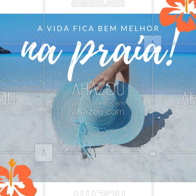 Quem concorda? #praia #ahazou #loucosporpraia