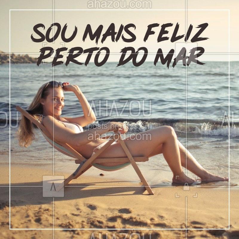Vem pra praia aproveitar os últimos momentos do verão! #ahazou #ahazoubeleza  #praia #sol #summerahz