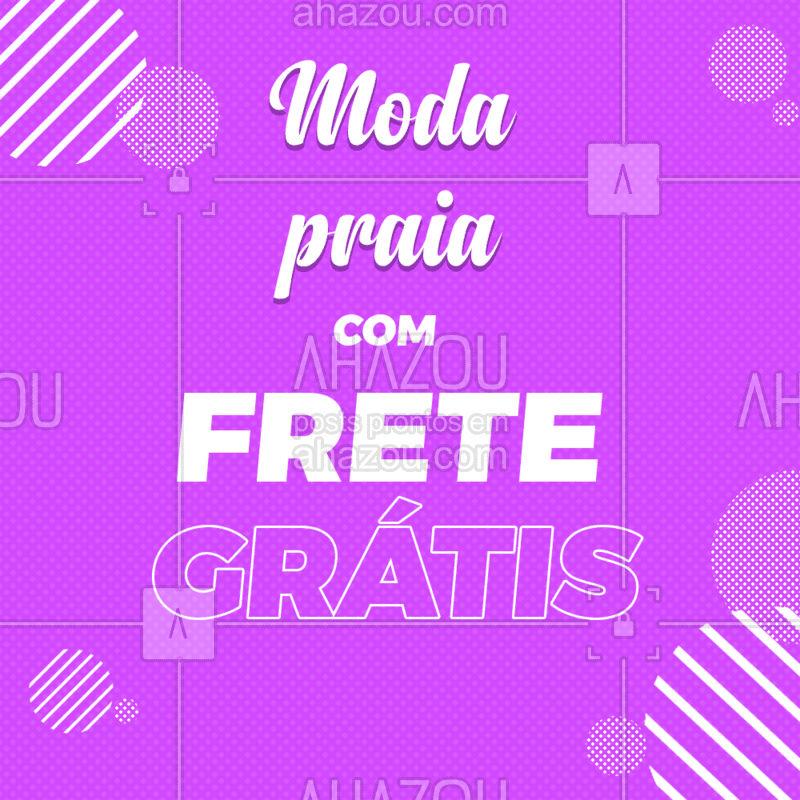 Aproveite os melhores produtos com frete grátis! #ahazou #moda #frete #grátis