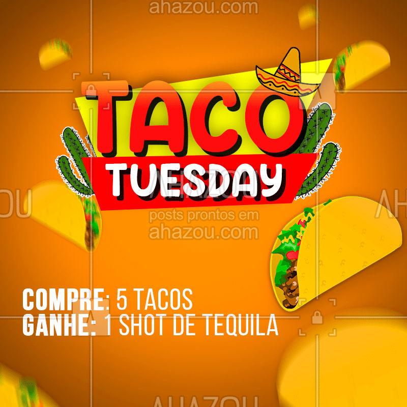 Qual é o melhor dia da semana e por que terça-feira?  #comidamexicana  #mexico  #gastronomia  #mexicano  #mexican #ahazou