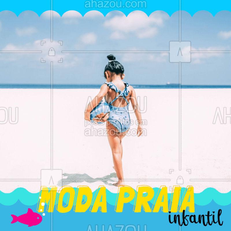 Moda praia pros baixinhos! #modapraia #verão #kids #ahazoukids #fashion