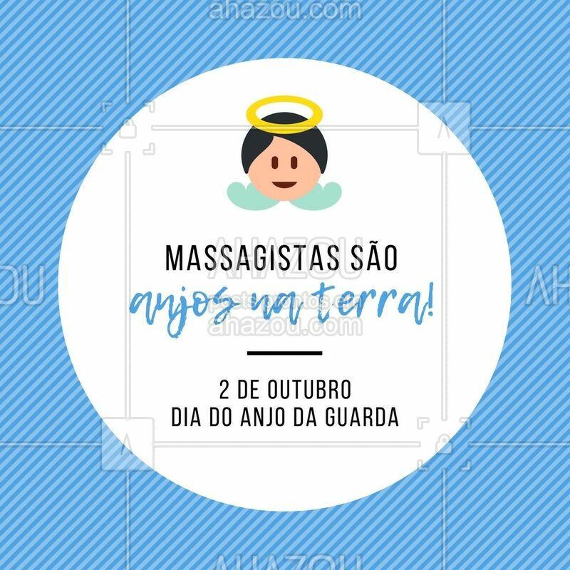Eles te protegem e te ajudam ficar melhor. #massagista #ahazou #anjodaguarda #engracado #motivacional #AhazouSaude