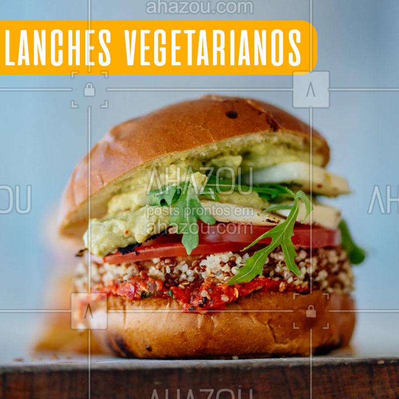 Hmmm... lanches de proteina vegetal! #vegetariano #lanches #ahazoufood