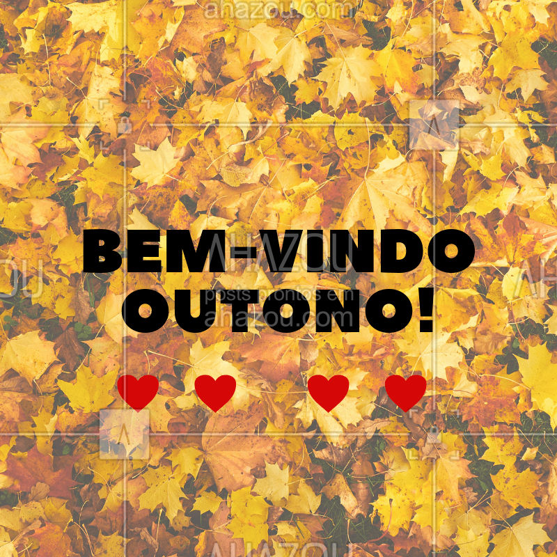 Bem-vindo Outono! ❤️️ #outono #ahazou #estaçaodoano #estaçao