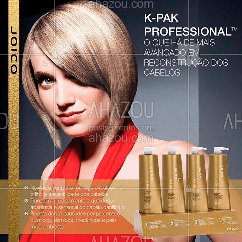 A saúde de seus cabelos está a 4 passos! ?? #joico #joicobrasil #ahazoujoico #beleza #hair