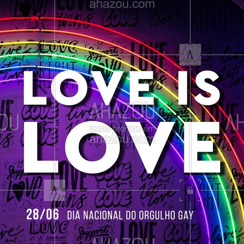 O que importa é o AMOR! #love #ahazou #lgbtqi+ #AhazouBeauty #ahazou