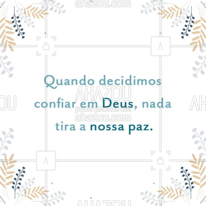 Confia! Deus está no comando.❤️ ?? #fe #Deus #AhazouFé #espiritualidade #todoscontraocoronavirus #coronavirus #covid19