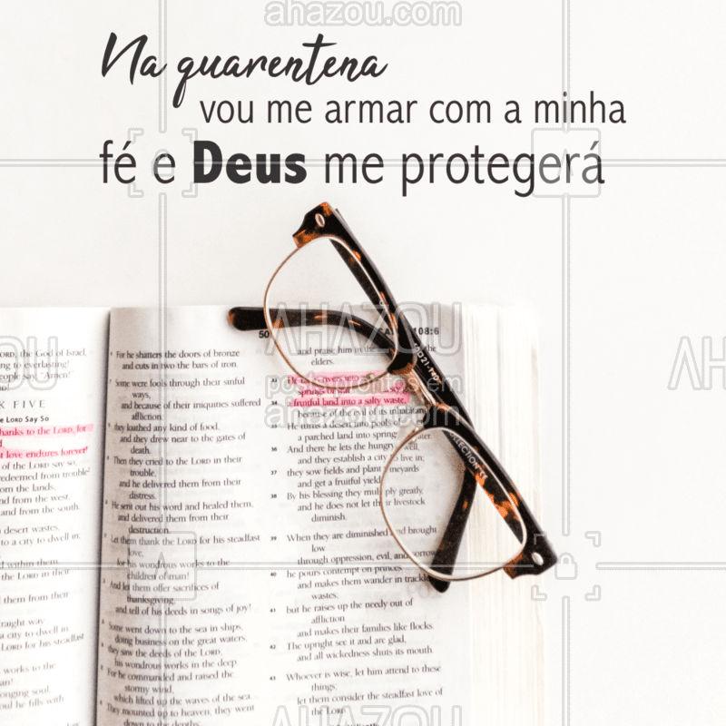 Ele sempre cuida de nós. ?  #Deus #amem #fé #coronavírus #AhazouFé