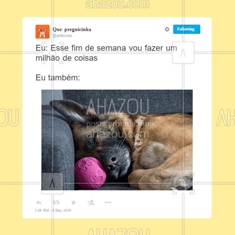 Só não vale deixar de cuidar e dar atenção ao seu bichinho, ok?   ? ? #pet  #ahazou  #ahazoupet  #cachorro  #petlover  #petcare  #gato  #dog  #cat