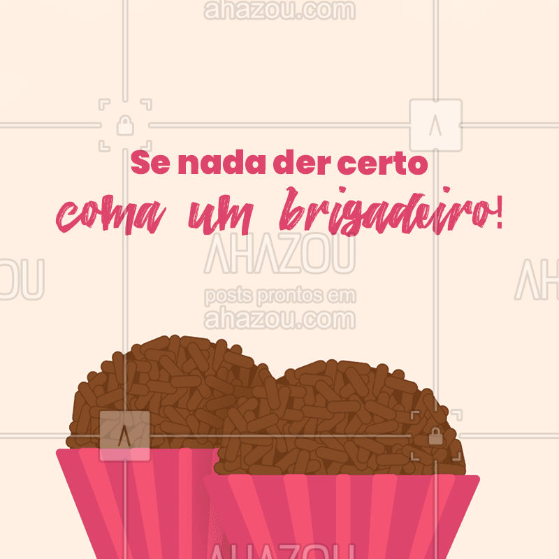Pelo menos você vai ter comido um brigadeiro, não tem coisa melhor!?#ahazoutaste #confeitaria #bolo #doces #memes #bolosdecorados #engraçado