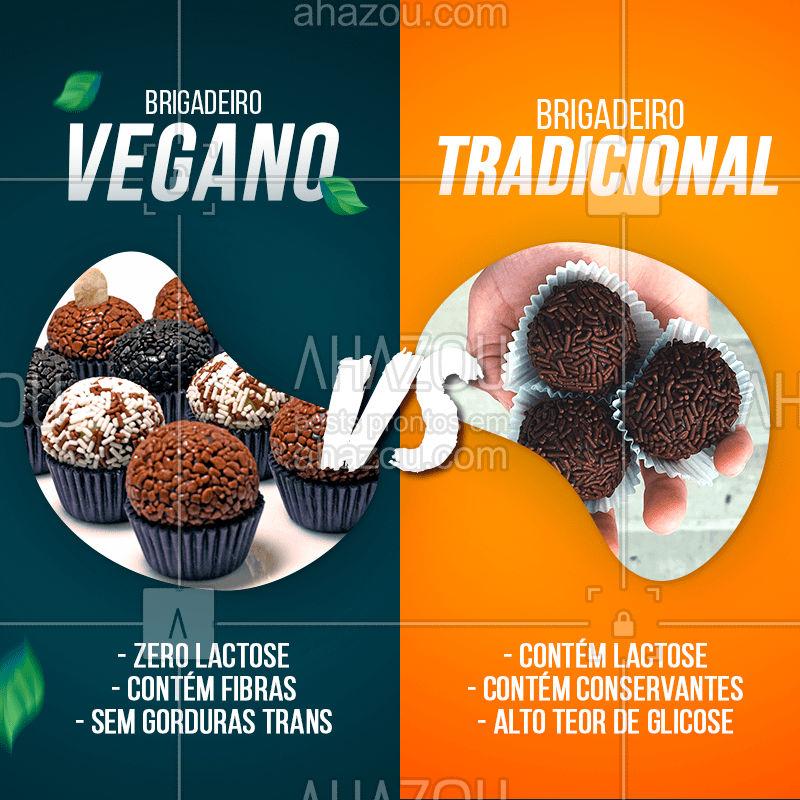 Alimentos veganos são sempre a opção mais saudável (além de deliciosos) ?  Que tal experimentar esse brigadeiro?? #vegano #alimentaçãosaudavel #brigadeiro #ahazoutaste #bandbeauty