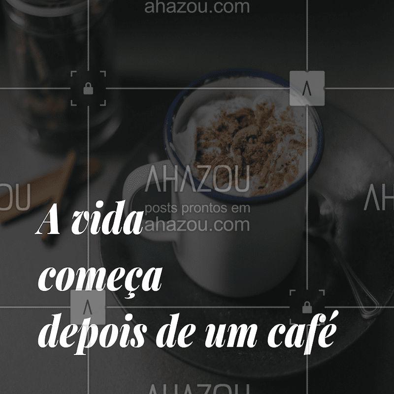 Não é  mesmo? Venha começar seu dia tomando um café em nossa loja. #café #cafeteria #amocafé #bomdia