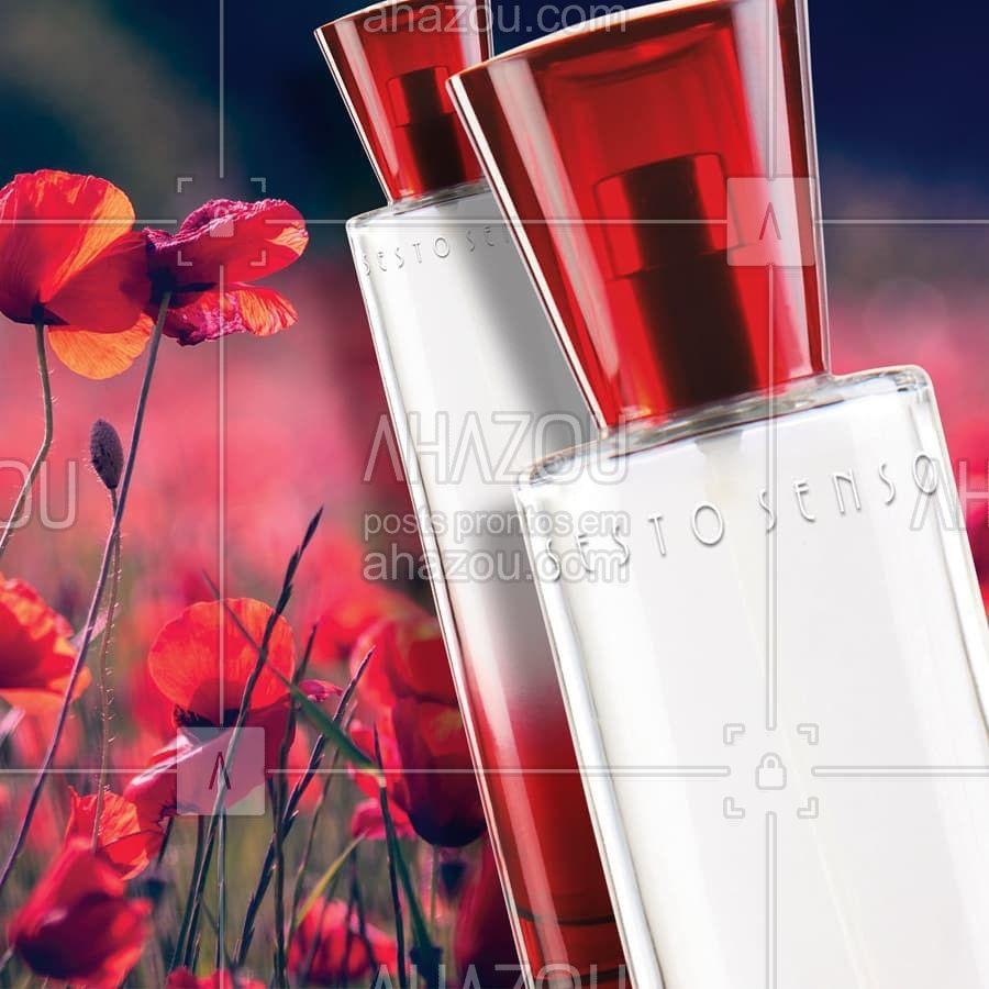 Uma fragrância floral amadeirada com um toque apimentado para mulheres em busca de fortes emoções.  #Jafra #JafraCosmeticos #LiberdadeParaSerVoce #SestoSenso #Perfume #Fragrancia #PerfumeFeminino #PerfumeLovers #FloralAmadeirada #ahazoujafra #ahazourevenda
