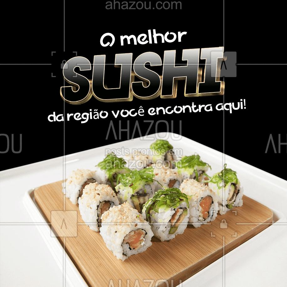 Os melhores ingredientes, e tudo feito com muito carinho especialmente para você! Entre em contato e peça já o seu, você não vai se arrepender! #japa #sushidelivery #sushitime #ahazoutaste #japanesefood #comidajaponesa #sushilovers