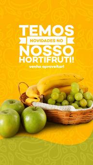 As novidades que você estava esperando chegaram, venha conferir! ?? #ahazoutaste #hortifruti #qualidade #vidasaudavel #mercearia #frutas #alimentacaosaudavel