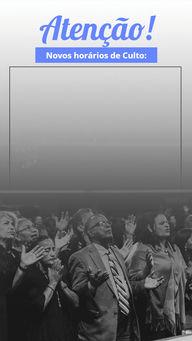 Confira nossos novos horários de culto e venha compartilhar com a gente o amor de Cristo! #programacao #culto #horario #AhazouFé #fécristã  #palavradeDeus  #igreja  #Deus  #Cristo