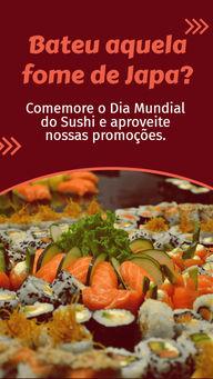 Comemore o Dia Mundial do Sushi com a gente. Combinados de sushi por apenas R$XX,XX Faça seu pedido! #ahazoutaste #japa  #sushidelivery  #sushitime  #japanesefood  #comidajaponesa  #sushilovers