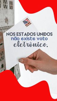 Enquanto no Brasil existe um movimento para voltarmos ao voto impresso, nos Estados Unidos essa é uma realidade antiga. Lá as eleições ainda são realizadas com cédulas de papel, e o voto não é obrigatório. E você, é a favor ou contra? #AhazouEdu #aulasdeingles #estadosunidos #america #voto