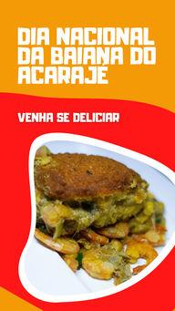 Venha se deliciar com nosso acarajé nesse dia especial.  25 de novembro - Dia Nacional da Baiana do Acarajé.#ahazoutaste #alacarte  #eat  #foodlovers  #ilovefood  #instafood  #restaurante  #selfservice