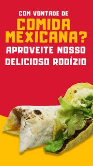 Venha nos visitar e matar sua vontade de comida mexicana com o nosso rodízio. 🤤🌮 #rodízio #ahazoutaste #comidamexicana #comida