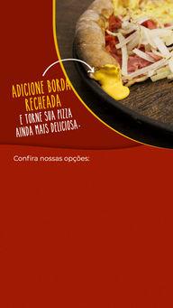 Escolha o sabor da sua borda recheada e saboreie uma deliciosa pizza, faça já o seu pedido. #pizza #ahazoutaste #bordarecheada #pizzaria