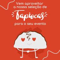 Já pensou em servir tapioca no seu evento? Aqui nós temos essa opção saudável e super deliciosa, além de agradar todo mundo ela chega quentinha até o seu convidado 😋 #ahazoutaste #tapioca #evento #sabores #seleção #convite #festa #buffet