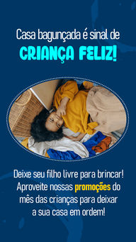Deixar as crianças livres para brincar e bagunçar é uma demonstração de amor dos pais. A consequência disso pode ser objetos quebrados paredes pintadas e moveis manchados. Aproveite nossas promoções do mês das crianças para fazer os reparos necessários para que seu pequeno continue brincando e se desenvolvendo com segurança! #organizaçao #reparos #limpeza #AhazouServiços #conserto #diadascrianças #bagunça #casa #arrumaracasa #mesdascrianças