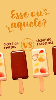 Quando o assunto é aquele sorvetinho, de que lado você está? 😋🍦 #ahazoutaste #gelados  #icecream  #sorvete  #sorveteria