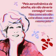 Hoje é o #DiaDaAbelha, e ela tem um significado especial para a Mary Kay Ash. É um dos símbolos da marca e da Consultora de Beleza Independente, que é capaz de superar qualquer limite.  As abelhas nos mostram o quanto podemos ir além quando não nos limitamos ✨   #MaryKayAsh #ahazoumarykay #ahazourevenda